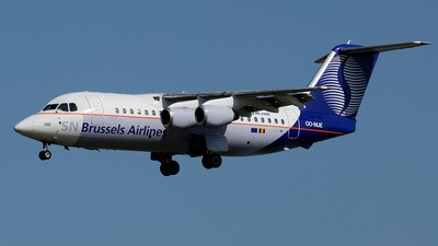 OO-MJE - British Aerospace BAe 146-200 - SN Brussels Airlines