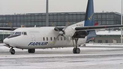 HA-FAC - Fokker F27-500 Friendship - Farnair Hungary