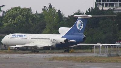 4L-85430 - Tupolev Tu-154B-2 - Georgian Airlines