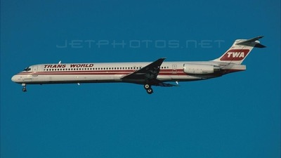 N9404V - McDonnell Douglas MD-83 - Trans World Airlines (TWA)