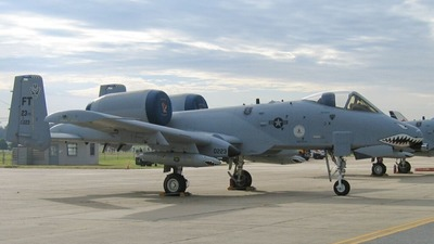 80-0223 - Fairchild A-10A Thunderbolt II - United States - US Air Force (USAF)