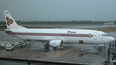 HS-TDB - Boeing 737-4D7 - Thai Airways International