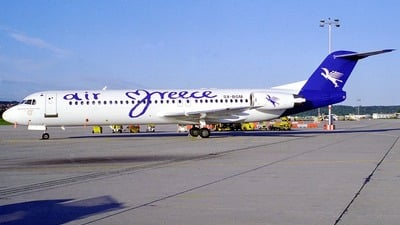 SX-BGM - Fokker 100 - Air Greece