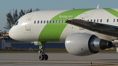 N693DL - Boeing 757-232 - Song