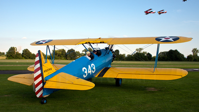 N921WS - Boeing A75N1 Stearman - Private
