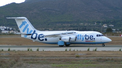 G-JEAY - British Aerospace BAe 146-200A - Flybe
