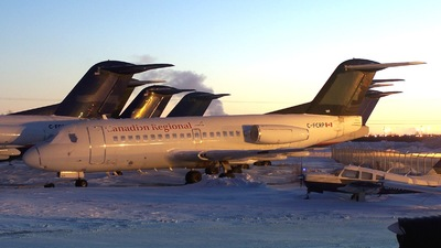 C-FCRP - Fokker F28-1000 Fellowship - Canadian Regional Airlines