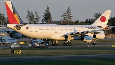 F-OHPM - Airbus A340-313X - Philippine Airlines