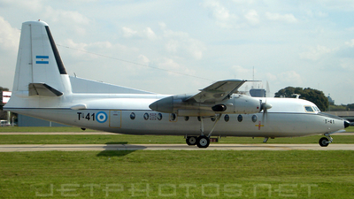 T-41 - Fokker F27-600 Friendship - Argentina - Air Force