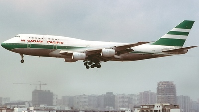 B-HOL - Boeing 747-367 - Cathay Pacific Airways