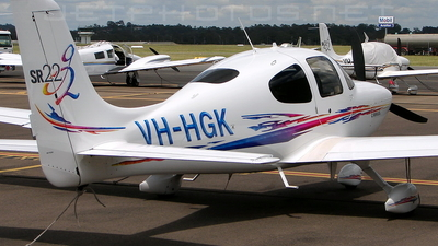 A picture of VHHGK - Cirrus SR22 - [2337] - © DaveWilson