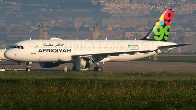 5A-ONB - Airbus A320-214 - Afriqiyah Airways