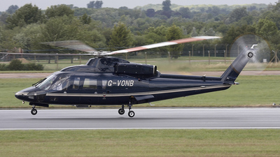 G-VONB - Sikorsky S-76B - Premiair Aviation Services