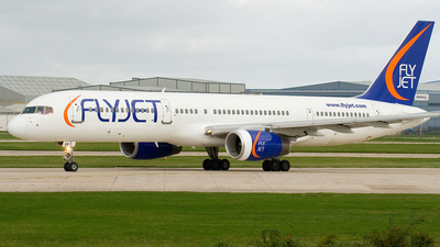 G-FJEB - Boeing 757-23A - Flyjet