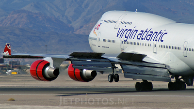 G-VROY - Boeing 747-443 - Virgin Atlantic Airways