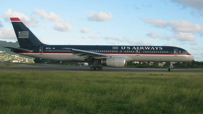N617AU - Boeing 757-2B7 - US Airways