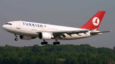 TC-JCV - Airbus A310-304(F) - Turkish Airlines