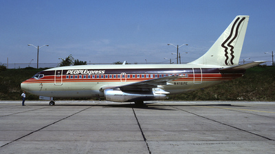 N416PE - Boeing 737-130 - PEOPLExpress