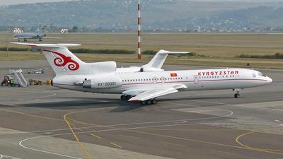 EX-00001 - Tupolev Tu-154M - Kyrgyzstan Airlines