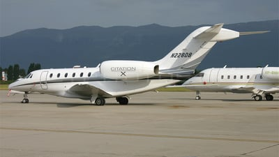 N228DB - Cessna 750 Citation X - Private