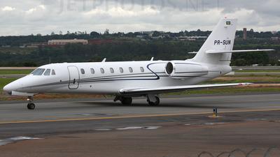 PR-SUN - Cessna 680 Citation Sovereign - Private