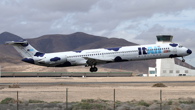 I-DAWZ - McDonnell Douglas MD-82 - ItAli Airlines