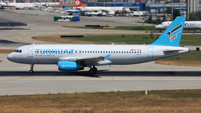 TC-TCD - Airbus A320-232 - Turkuaz Airlines