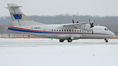 A picture of CGWWD - ATR 42300 - Transwest Air - © Matt Willems