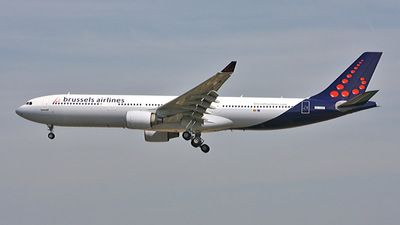 EI-DVB - Airbus A330-322 - Brussels Airlines