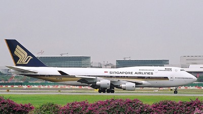 9V-SPE - Boeing 747-412 - Singapore Airlines