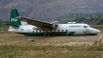AP-AUR - Fokker F27-200 Friendship - Pakistan International Airlines (PIA)