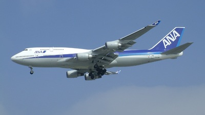 JA404A - Boeing 747-481 - All Nippon Airways (ANA)