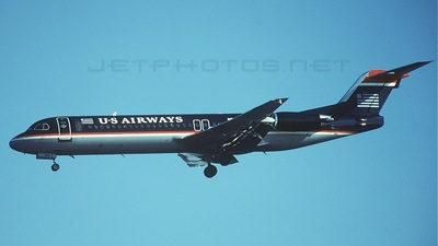 N866US - Fokker 100 - US Airways
