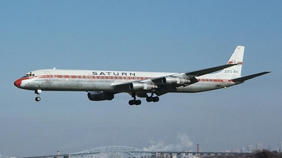 N8956U - Douglas DC-8-61(CF) - Saturn Airways