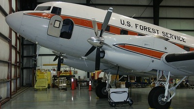 N115Z - Douglas DC-3 - United States - Department of Agriculture