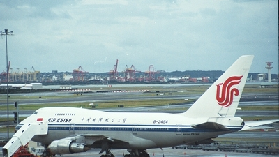 B-2454 - Boeing 747SP-27 - Air China