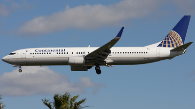 N31412 - Boeing 737-924 - Continental Airlines