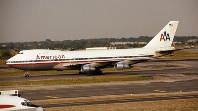 N743PA - Boeing 747-121 - American Airlines