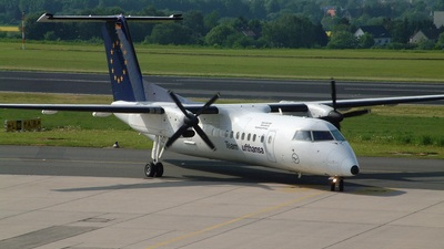 D-BPAD - Bombardier Dash 8-Q314 - Team Lufthansa (Augsburg Airways)