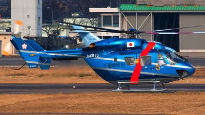 JA6815 - MBB-Kawasaki BK117C-1 - Japan - Police
