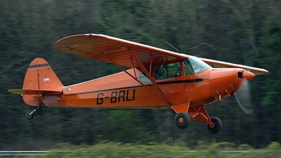G-BRLI - Piper J-5A Cub Cruiser - Private