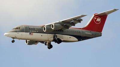 N534XJ - British Aerospace Avro RJ85 - Northwest Airlink (Mesaba Airlines)