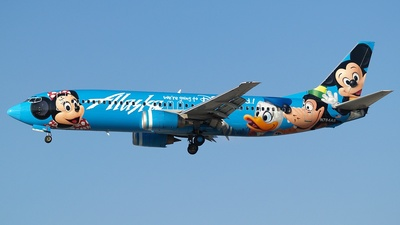 N784AS - Boeing 737-4Q8 - Alaska Airlines