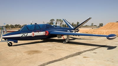 212 - Fouga CM-170 Magister - Israel - Air Force