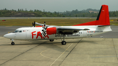 9M-MGG - Fokker 50 - Fly Asian Xpress (FAX)
