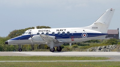 ZE438 - British Aerospace Jetstream T.3 - United Kingdom - Royal Navy