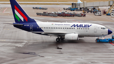 HA-LOD - Boeing 737-6Q8 - Malév Hungarian Airlines