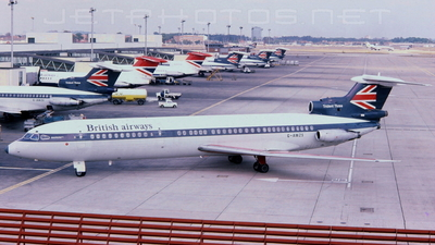 G-AWZS - Hawker Siddeley HS-121 Trident 3 - British European Airways (BEA)