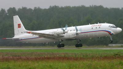 RA-75464 - Ilyushin IL-18D - Russia - State Transport Company