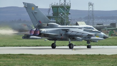 ZD709 - Panavia Tornado GR.4 - United Kingdom - Royal Air Force (RAF)